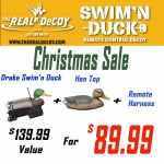Swim'N Duck - CHRISTMAS SALE - Remote Control Decoy